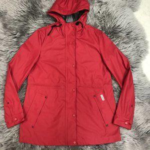 Hunter Women's Rain Jacket   Matte Red   XSmall